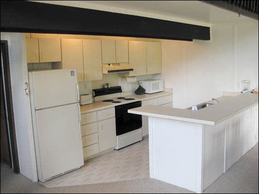 The Kitchen Is Fully Equipped With A Full Size Refrigerator With Freezer Stove Oven Dishwasher Microwave Garbage Disposal And Coffee Maker